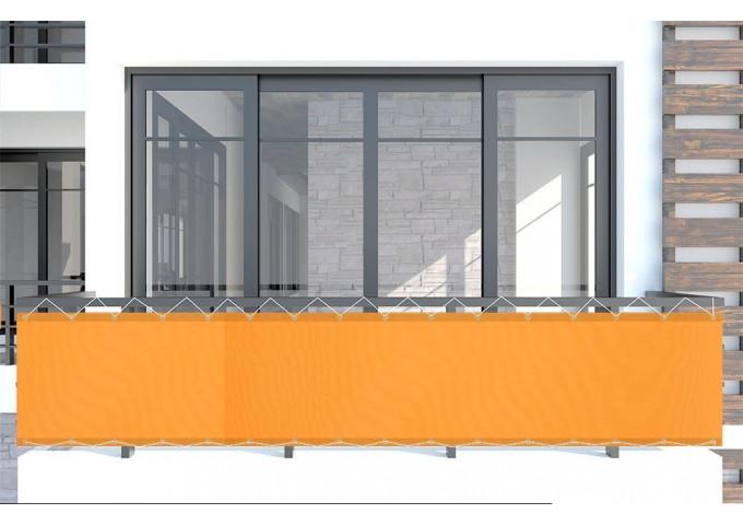 Brise vue mandarine orange dickson orchestra 0867