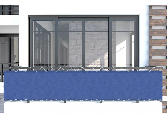 Brise vue azul-real-r bleu Sauleda Sensation 2235