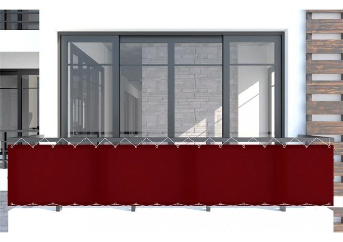Brise vue bordeaux rouge dickson Orchestra Max 8206MAX