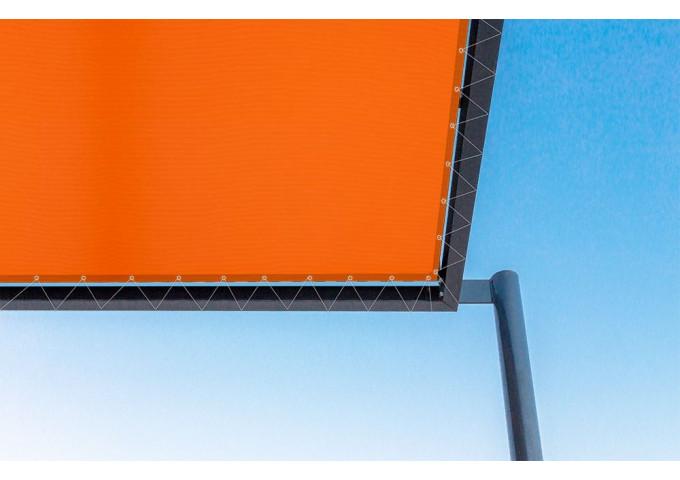 Toile de pergola orange dickson orchestra 0018