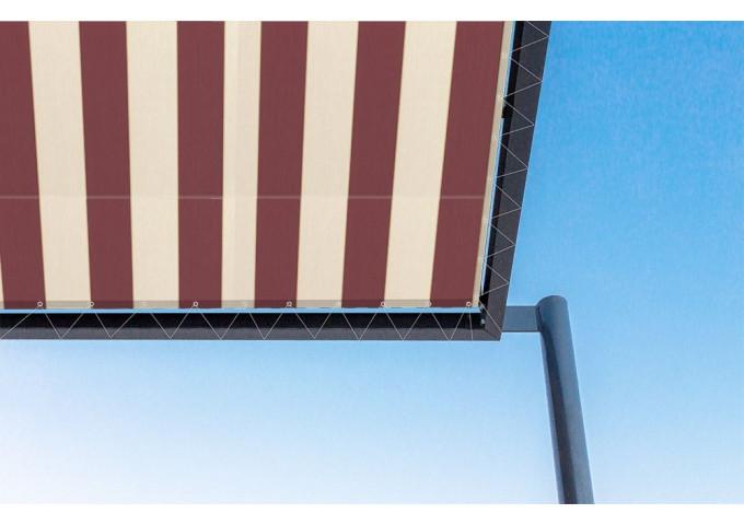 Toile de pergola alsacia rouge Sauleda Sensation 2031