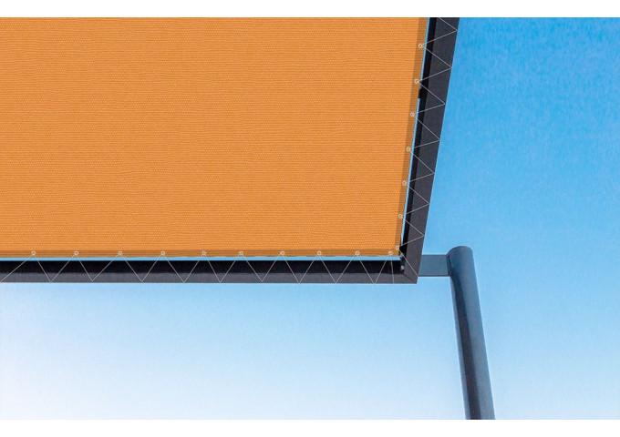 Toile de pergola orange Sauleda Sensation 2050
