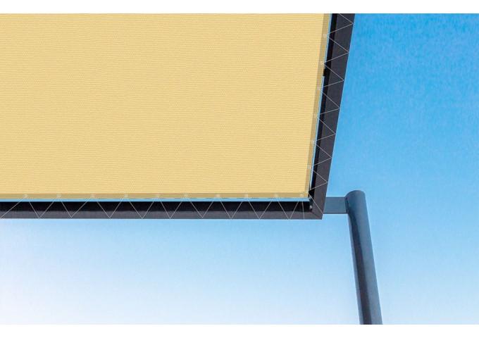 Toile de pergola melocoton-r jaune Sauleda Sensation 2830