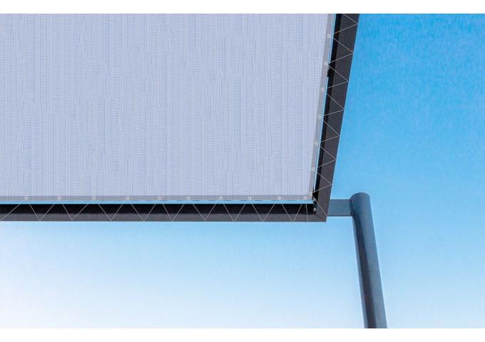 Toile de pergola ice-r bleu Sauleda Sensation 3006