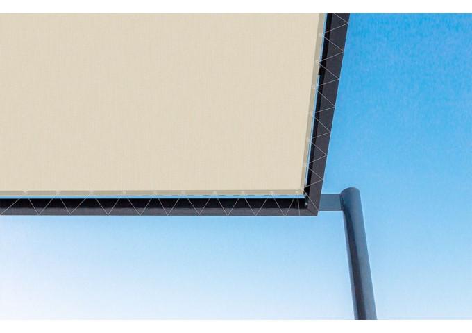 Toile de pergola praline beige Sauleda Sensation 3010