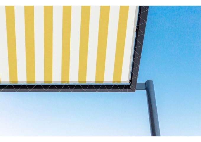 Toile de pergola Jaune-Blanc jaune Sauleda Sensation 2015
