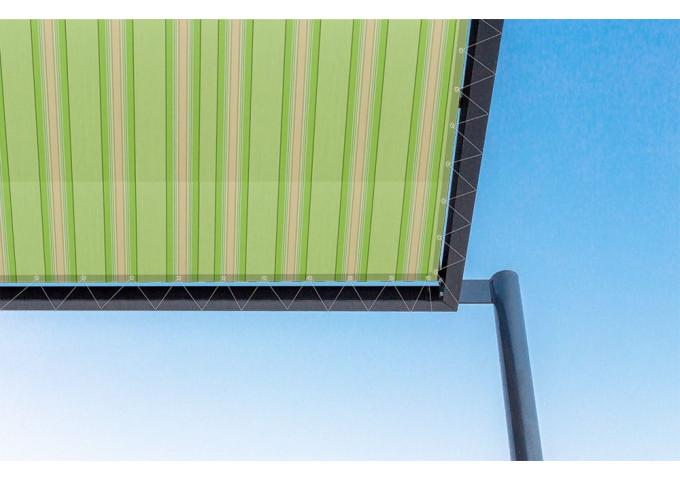 Toile de pergola golf vert Sauleda Sensation 3024
