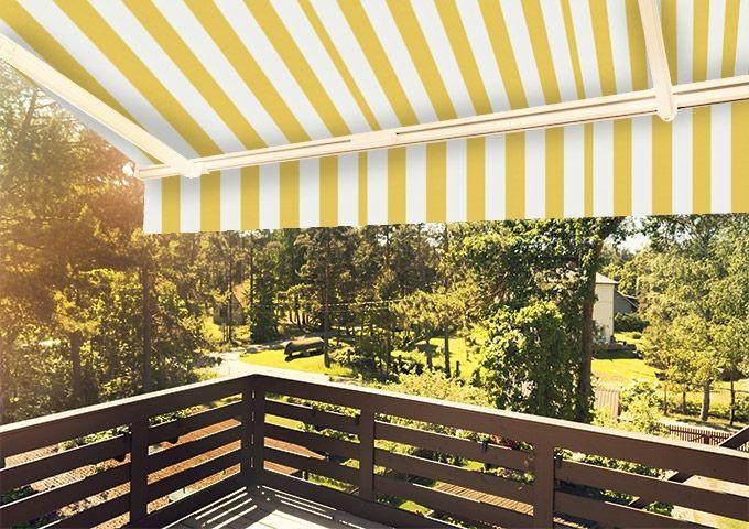 Lambrequin Jaune-Blanc jaune Sauleda Sensation 2015