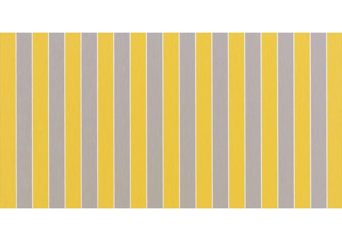 Toile au mètre monaco jaune Sauleda Sensation 2154