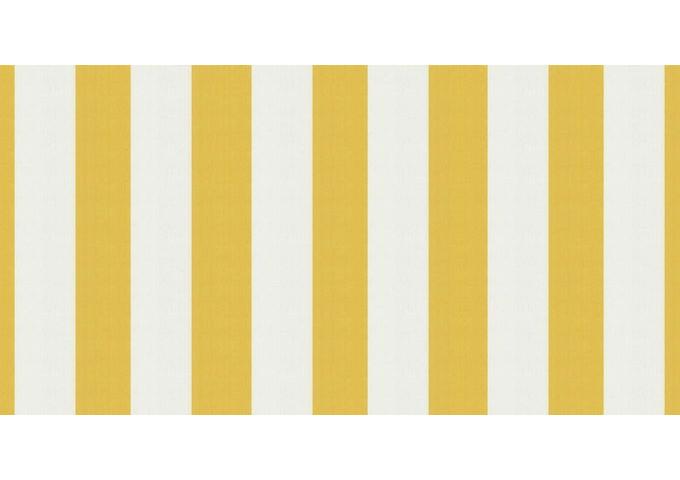 Toile au mètre Jaune-Blanc jaune Sauleda Sensation 2015