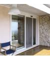 Moustiquaire enroulable latérale 1 vantail grandes dimensions sur mesure