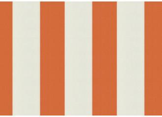 Lambrequin Orange-Blanc orange Sauleda Sensation 2052