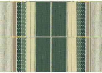 Lambrequin itaca vert Sauleda Sensation 2581