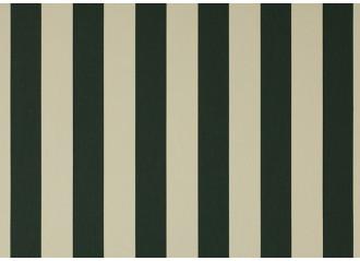Toile au metre creme-vert-foret blanc dickson orchestra 8555