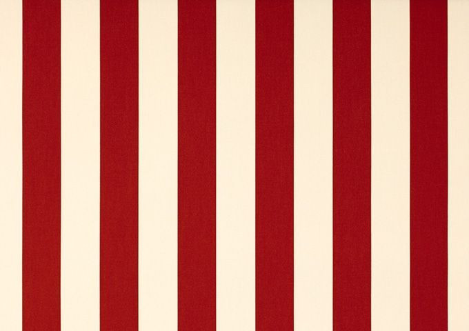 Toile au metre creme-rouge blanc dickson orchestra 8557