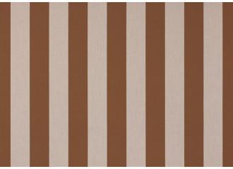 Lambrequin marron-marron beige dickson orchestra 8299