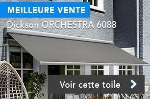 Toile de store banne 6088 gris Orchestra